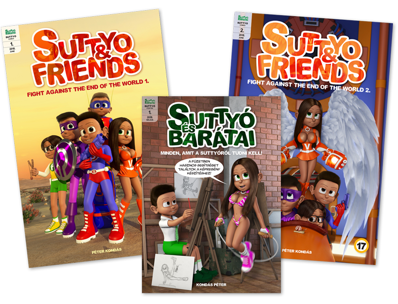 You can order the physical copy of Suttyo comic books